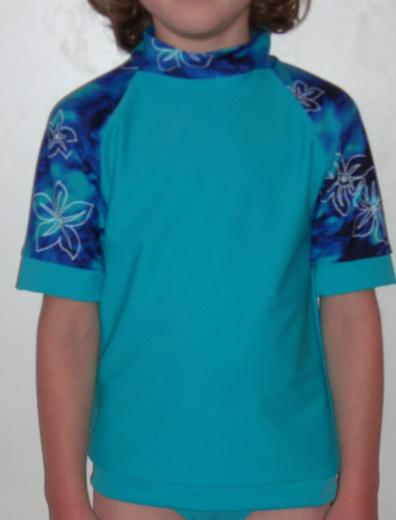 Atlantis Surfer Sport - UV50+ Shirt (muster Ärmel)