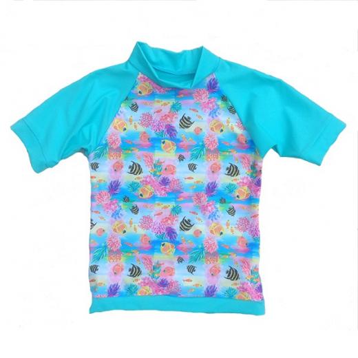 Little Mermaid - ECO UPF50+ Sonnenschutzhemd Turkis