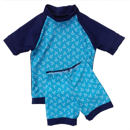 Sailor - eco UPF50+ Rash shirt and short set