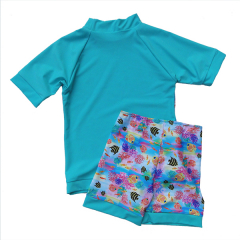 Little Mermaid - ECO UPF50+ Rash shirt and short set