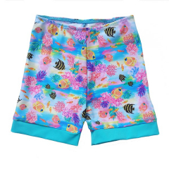 Little Mermaid - ECO UPF50+ Sonnenschutz Boardiehose Turkis