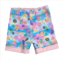 Little Mermaid - ECO UPF50+ Sonnenschutz Boardiehose Rosa